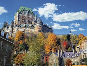 The Fairmont Chateau Frontenac-Quebec